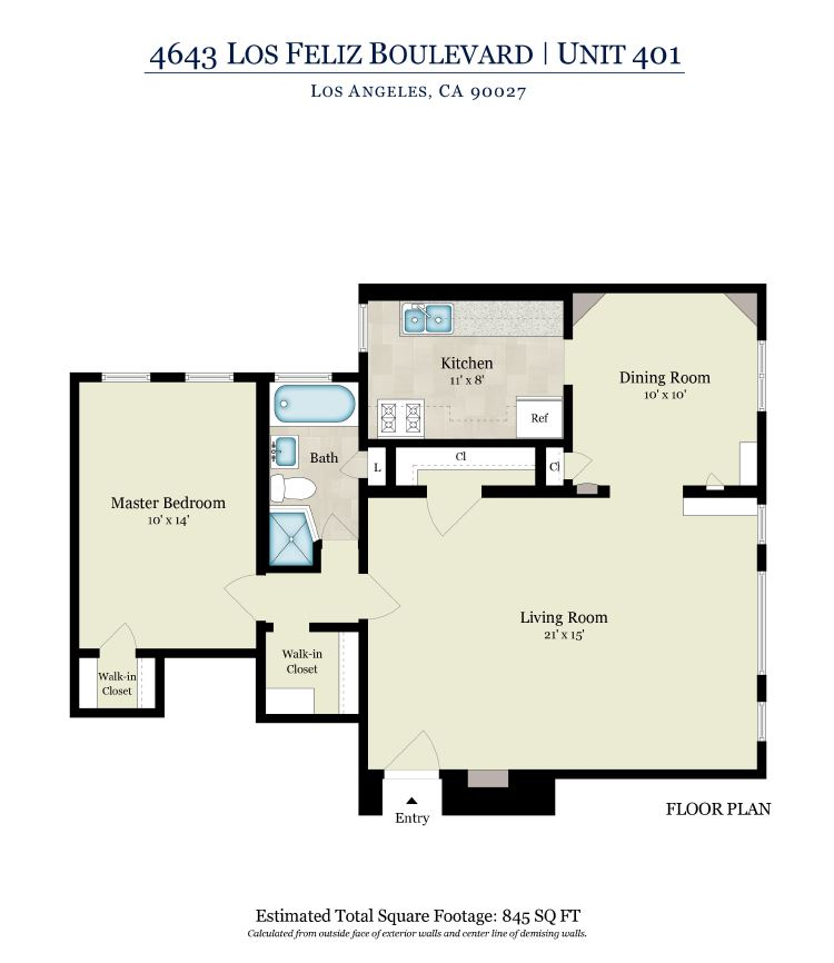 Los Feliz Manor Apartments Available To Rent